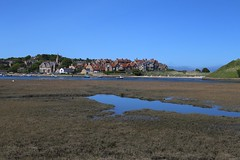 Alnmouth from across the estuary (smitchelrific) Tags: village estuary coastal alnmouth northsea blueskies