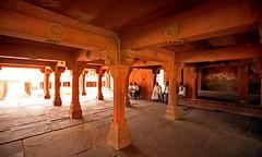 Fatehpur Sikri Palace 105 (David OMalley) Tags: india muslim islam agra palace mosque pilgrimage akbar masjid allah islamic pradesh fatehpur sikri muhammed uttar jama darwaza buland sikari vijaypur