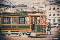 Historic tram @ Helsinki (Joni Salama) Tags: suomi finland helsinki tram fi kruununhaka liikenne esplanadi uusimaa raitiovaunu kulkuneuvot