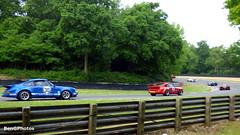 Masters Historic Sports Cars (BenGPhotos) Tags: blue red white sports car sport festival race mark bruce 911 racing historic german porsche motor hatch bates masters rs brands motorsport autosport 2016 rsr