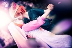 Devotion (Snowgrimm) Tags: pink love costume kiss couple cosplay sweet disney fantasy devotion romantic dreamy robinhood