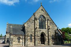 St. Michaels RC Church, Linlithgow (David_Leicafan) Tags: church gothic linlithgow pugin 35mmsummaronf28