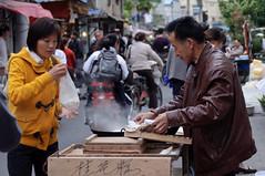 Street food (albi_tai) Tags: street people food nikon shanghai persone streetfood cibo cina bancarella d90 nikond90 albitai