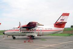 RA-67649 LET L-410UVP-E Aeroflot (pslg05896) Tags: russia let aeroflot krasnoyarsk unkm l410uvpe cheremshanka ra67649