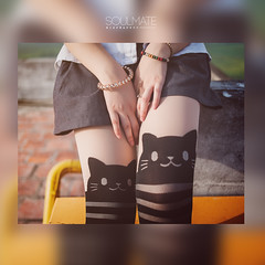 Soulmate (HiepHappyy) Tags: girl japan cat japanese kat highschool vietnam stocking hanoi tran soulmate dinh linh khanh legging hadong hiephappyy