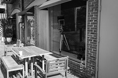 Table with a View (BRB1952) Tags: michigan ypsilanti polarizer depottownypsilanti