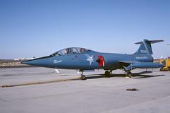 N104NL.MHV091092copy (MarkP51) Tags: n104nl lockheed cf104d starfighter warbird usa aviation aircraft airplane plane image markp51 kodachrome slide film