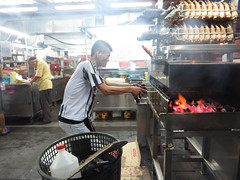 chickenwings (PJHarrison) Tags: street travel food singapore southeastasia market malaysia dining satay hawkers skewers