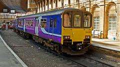 150119 (JOHN BRACE) Tags: york trains 1986 northern seen built livery sprinter brel 1501 150119