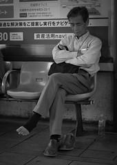 Air conditioned socks (Bill Morgan) Tags: street tokyo fuji fujifilm f2 18mm xpro1