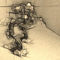 R&D Walker Concept (Marco Marozzi) Tags: lego walker marco mecha minifigure moc marozzi legodesign legomecha legomech