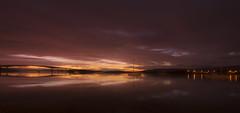 Where the sky meets the sea... (Echoes89) Tags: bridge sunset sea sky skye island scotland peace where serenity isle meets tranquillity