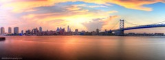Philly Sunset! (alextotophotography) Tags: nature beautiful canon landscape photography photo amazing colorful cityscape photographer bea panoramic philly visual