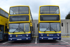 Dublin Bus AX465 06-D-30465 & AX464 06-D-30464 (Will Swain) Tags: broadstone depot 12th june 2016 garage yard central bus buses transport travel uk britain vehicle vehicles county country southern south east ireland irish city centre dublin ax465 06d30465 ax464 06d30464