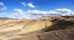 Am I on Earth? (Chingphota) Tags: sky cloud oregon landscape outdoor hill paintedhills