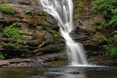 Secret Falls, NC (MickMo10) Tags: summer landscape photography nc moss highlands rocks pentax hiking northcarolina waterfalls secretfalls f13 westernnc k5ii