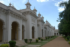 Walkway and common rooms (VinayakH) Tags: india gardens royal palace hyderabad royalpalace nizam telangana chowmahallapalace