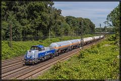 07-07-16 Transpetrol 265 499 + Keteltrein, Duisburg Lotharstrasse (Julian de Bondt) Tags: duisburg abzweig gravita northrail keteltrein 15bb lotharstrasse