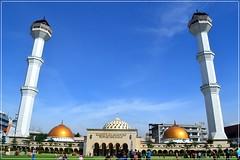 DSC_855 (Irsa Hanif. P) Tags: indonesia landscape mosque bandung masjid menara masjidrayabandung alunalunbandung explorebandung indonesiaituindah