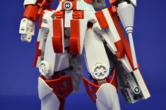 Medic_02 (Shadowgear6335) Tags: red white robot lego system technic medic bionicle moc shadowgear shadowgear6335