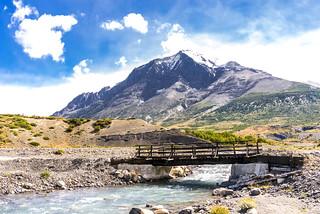 Torres del Paine National Park. Chile