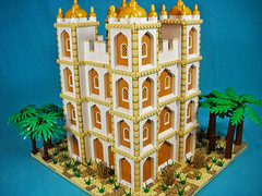 Desert Keep (Peter deYeule) Tags: castle persian lego prince persia age empire keep middle