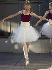 Ballerina Girls (Transient Eternal) Tags: girls portrait ballet stockings smiling laughing point fun dance ballerina shoes toe dancers recital skirt blonde strap practice lambswool bun leotard hairbun ballerinas toeshoes