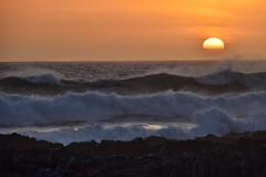 western cape waves (paddy_bb) Tags: travel sea sky cloud seascape water hermanus southafrica coast 2015 nikond5300 paddybb