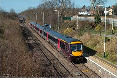 The Local (Resilient741 Photography) Tags: ex train diesel leicestershire south leicester railway trains class crosscountry works xc railways midland 170 unit mainline turbostar mml dmy wigston leics 170103 mulpiple