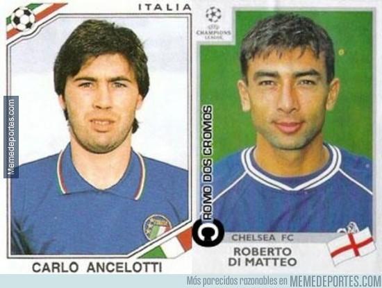 Todos tenemos un pasado. Versión: Ancelotti y Di Mateo