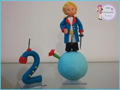 Topo de bolo pequeno príncipe (meireborges2012) Tags: topo de centro biscuit bolo festa decoração mesa presente pequeno principe enfeite lembrancinha