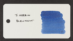 J. Herbin Bleu Nuit - Word Card