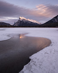Mount Rundle III (Sandra Herber) Tags: winter snow canada ice alberta banff mountrundle banffnationalpark