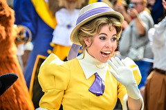 Disneyland's 59th (EverythingDisney) Tags: birthday jane disneyland disney dlr tarzan 59th janeporter