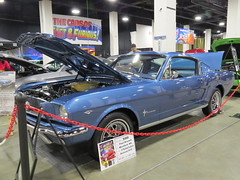 2015 World of Wheels in Boston (mike01905) Tags: worldofwheels 2015worldofwheels 1965 ford mustang fastback