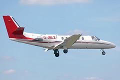 G-JBLZ Cessna Citation II 550  (MSN 550-0073) (Bates Aviation Reports) Tags: fab biz 2014 twf c550