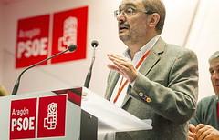 Elección como candidato al Gobierno de Aragón