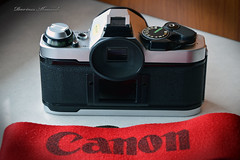 Canon AE-1 Program. (Dariusz A. - Poland) Tags: old canon ed nikon ae1 cameras program mm nikkor vr afs dx 18105 f3556 d3200