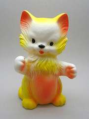 Kittens McTavish (The Moog Image Dump) Tags: france cute cat vintage toy kittens kawaii mctavish squeaker squeaky delacoste