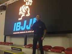 Cleyton Bastos Arbitro de la IBJJF.