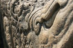 Korawak Gala (Balustrades) (Amal Roshan) Tags: stone balustrades anuradhapura dragonstone anuradhapuraya korawakgala makaragala
