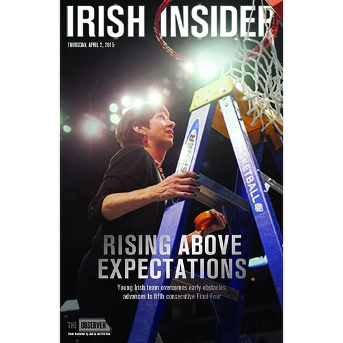 Pick up a copy of our @ndwbb Final Four Insider around campus before the Irish take on South Carolina on Sunday, and check out all our coverage: http://ift.tt/1xEXaV5