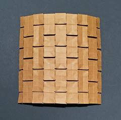 Momotani wall (mganans) Tags: origami tessellation