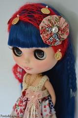 Sets Exclusivos (Ponto e Laçada Outfits) Tags: vintage tricot dolls dress crochet fantasy fuxico blythe takara renda croche tematico tematic