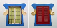 Antes/ Ahora (John LaMotte) Tags: portugal algarve lagos infinitexposure ventana window janela ilustrarportugal