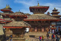 Durbar square in Kathmandu, some weeks ago! (Bertrand Linet) Tags: nepal kathmandu durbarsquare
