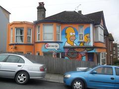 AROE (Brighton Rocks) Tags: graffiti brighton simpsons kings homer letter artillery msk ha mad seventh heavy society 7th aroe the