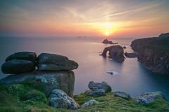 The End becomes The Beginning_ (surfer623) Tags: sunset landsend batis18mm