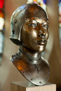 Bust of Joan of Arc   Church of St Joan of Arc   Rouen-101