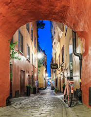 Stockholm Old Town (Maria_Globetrotter) Tags: bike cool stockholm charming kronan cykel 30052016img1052